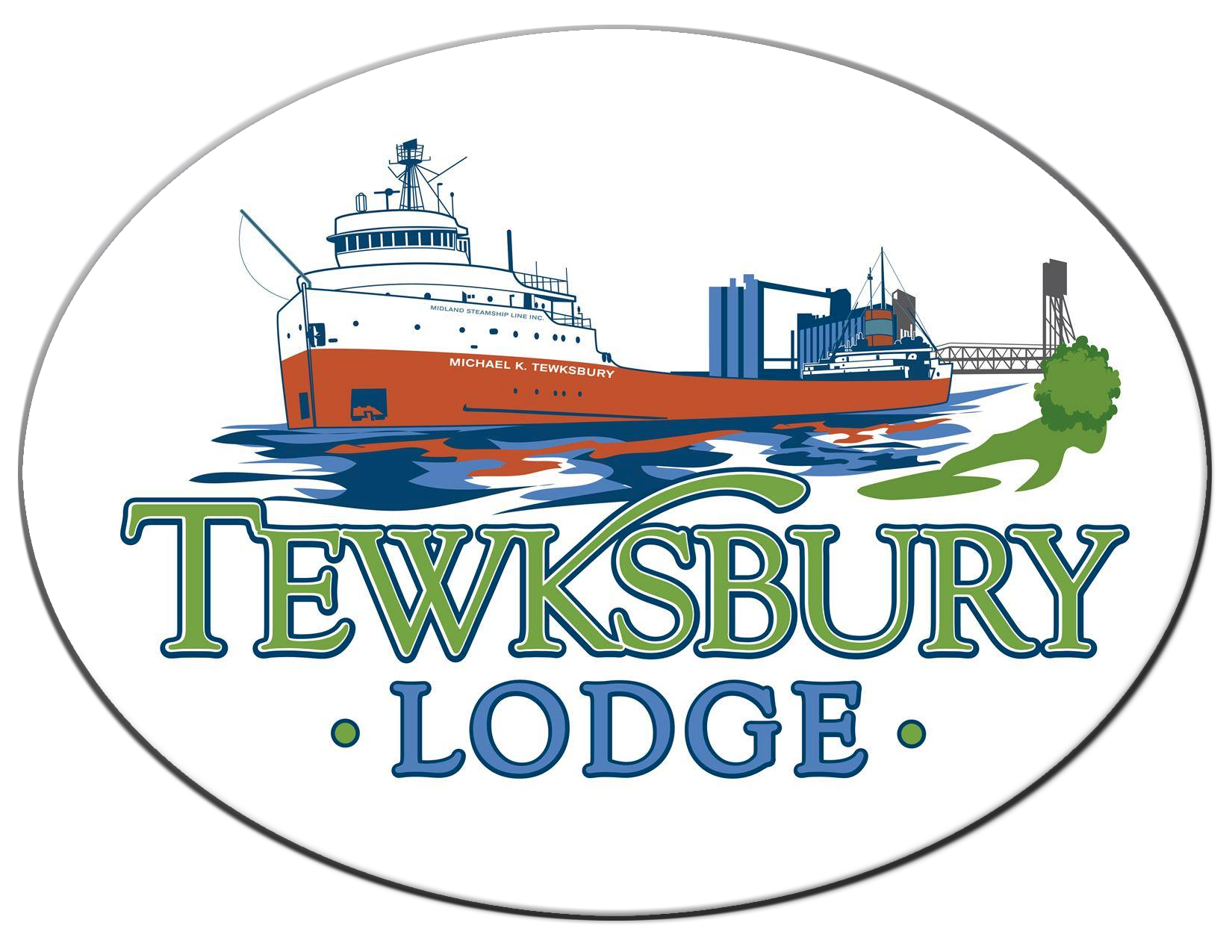 the tewksbury lodge logo