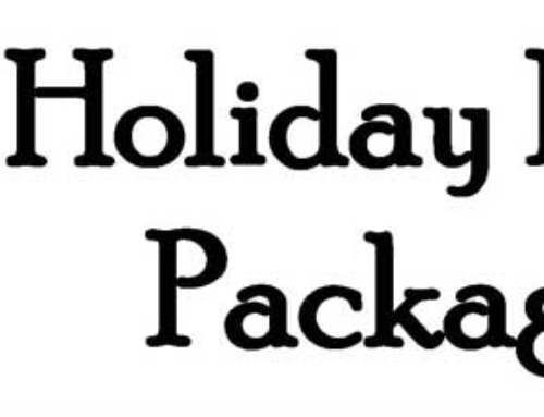 Holiday Party Packages NOW AVAILABLE