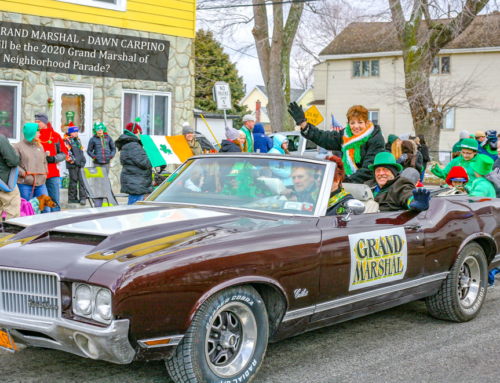 """OLD NEIGHBORHOOD"" PARADE GRAND MARSHAL & DEDICATIONS TO BE FORMALLY ANNOUNCED AT FUNDRAISER PARTY ON FEBRUARY 29TH, 2020"